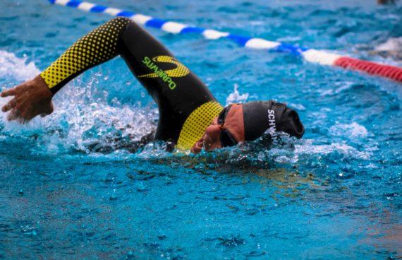 Schwimmer Sprinttriathlon Braunau 2016