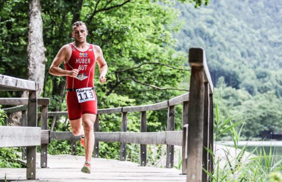 Läufer Thumsee Triathlon 2017