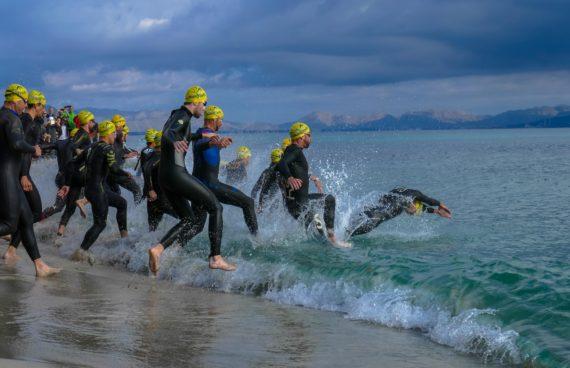 Schwimmstart Mallorca 2016