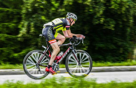 Radfahrer Eisenwurzen Triathlon Juni 2016