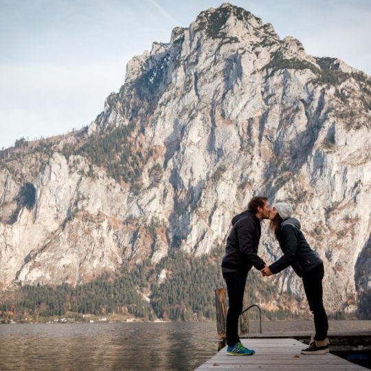 Verlobung Traunsee