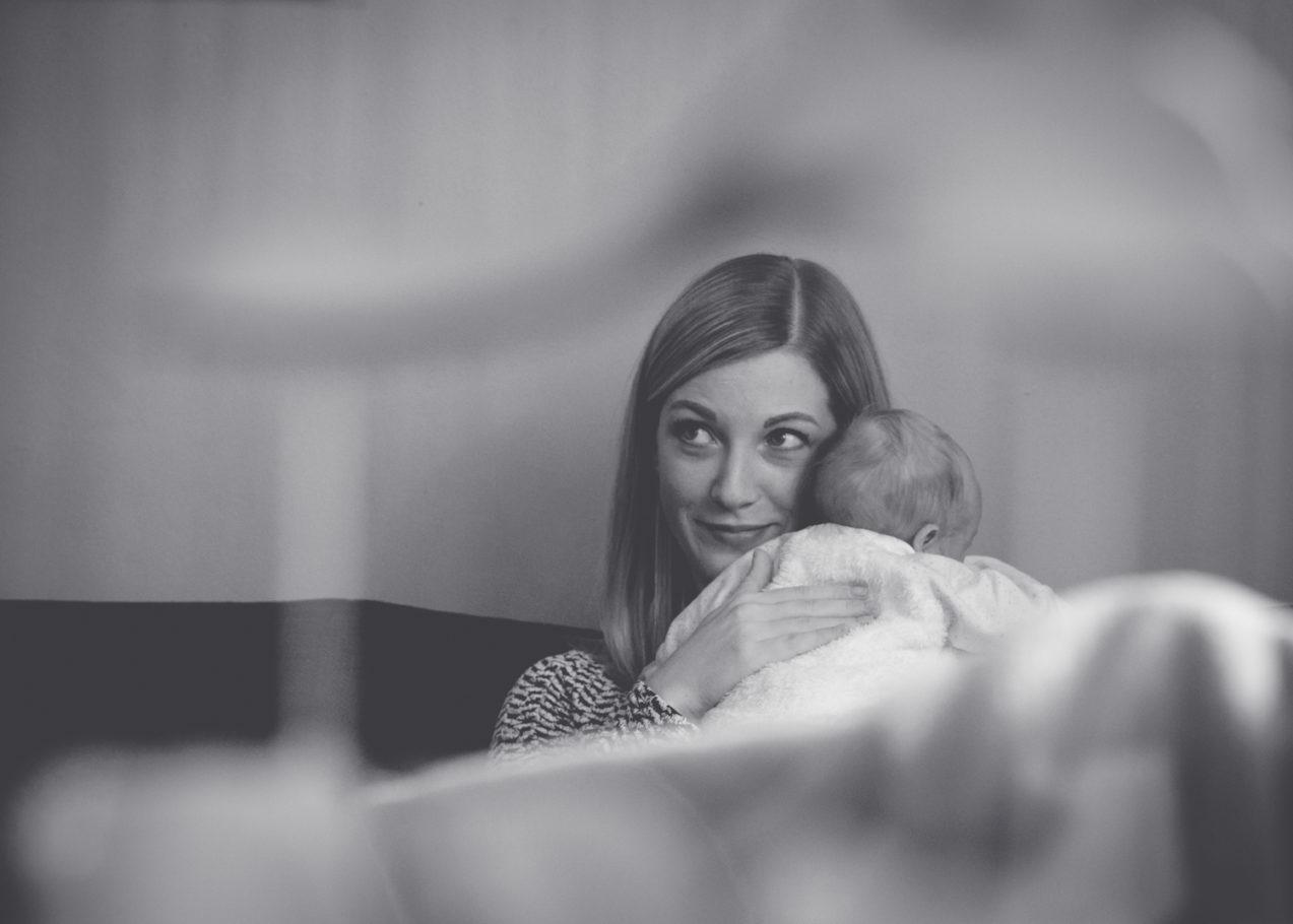 Newborn Selina und Lena