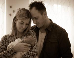 Newborn Homestory Selina, Pascal, Lena