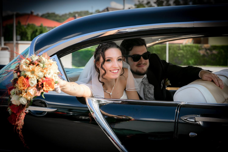 2018-09-08 Hochzeit Carmen Konrad im Brautauto