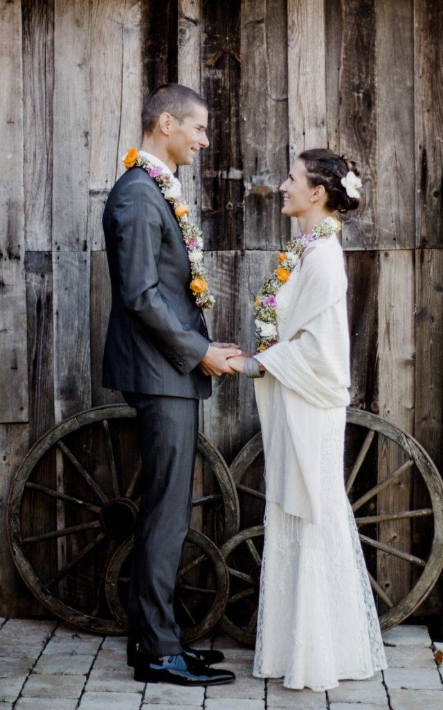 Hochzeit am Vedahof Marisa Stefan Hände
