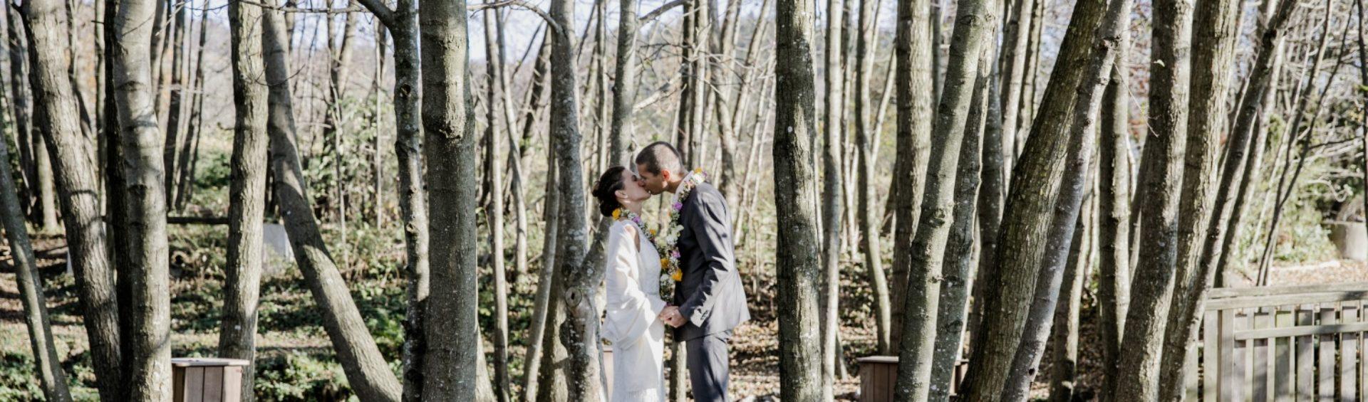 Hochzeit am Vedahof Marisa Stefan Bäume