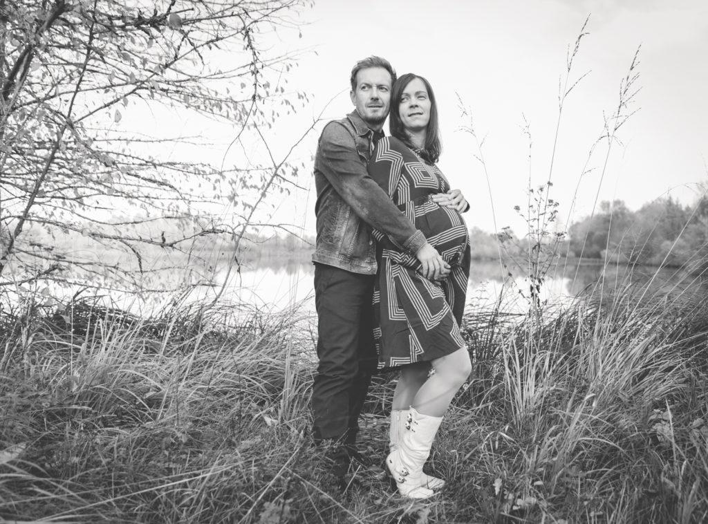 Katharina und Christian Babybauch