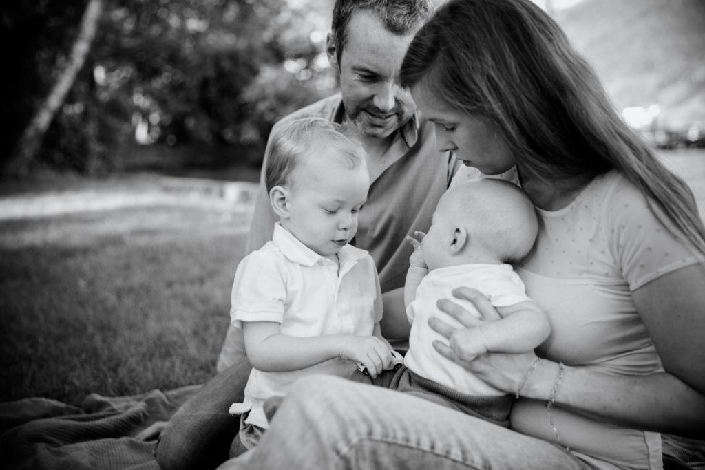Familienshooting Julia Tom sw